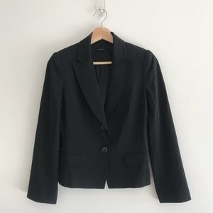 Elie Tahari Slim Fit Wool Blazer Jacket Sz 4